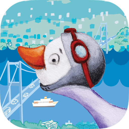Istanbul Adventure with Bruce the Goose App Icon - Manolin